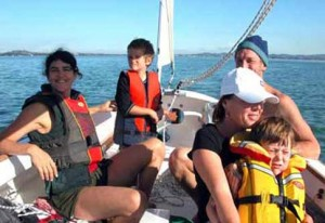 Family-out-sailing